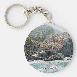 Manarola, Italy Keychain