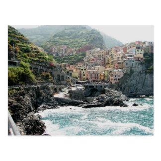 Manarola, Italy Postcard