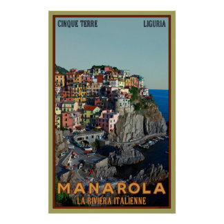 Manarola Posters