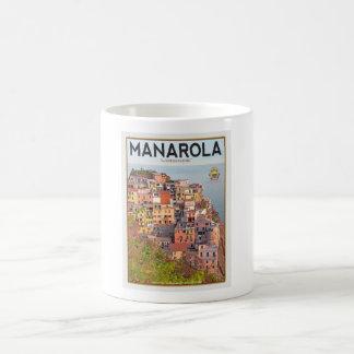 Manarola Vineyard Sunset (white) Coffee Mug