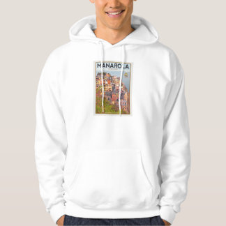Manarola Vineyard Sunset (white) Pullover