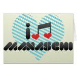 Manaschi fan greeting cards