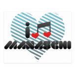 Manaschi fan postcard