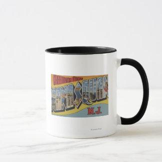 Manasquan, New Jersey - Large Letter Scenes Mug