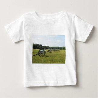 Manassas Battlefield - Civil War Baby T-Shirt