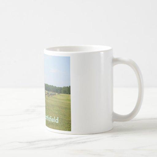 Manassas Battlefield - Civil War Classic White Coffee Mug
