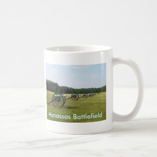 Manassas Battlefield - Civil War Coffee Mugs