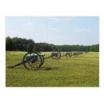 Manassas Battlefield - Civil War Postcard