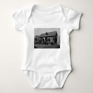 Manassas Battlefield First Battle Civil War Baby Bodysuit
