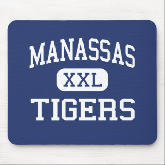 Manassas - Tigers - High - Memphis Tennessee Mouse Pad
