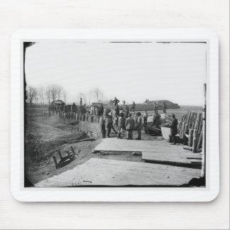 Manassas, Va. Confederate fortifications Mouse Pad