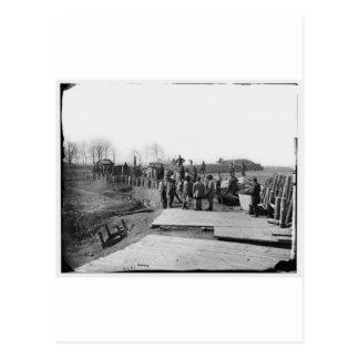 Manassas, Va. Confederate fortifications Postcard