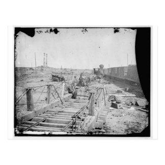 Manassas, Va. Orange and Alexandria Railroad Postcard