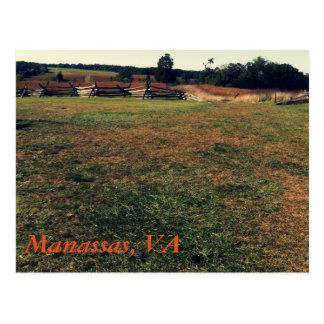 Manassas, VA Postcard