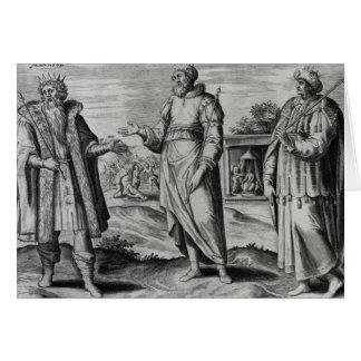 Manasseh  Amon  and Josiah Greeting Card