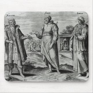Manasseh  Amon  and Josiah Mouse Pad
