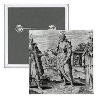 Manasseh  Amon  and Josiah Pinback Button