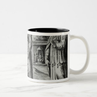 Manasseh  Amon  and Josiah Two-Tone Coffee Mug