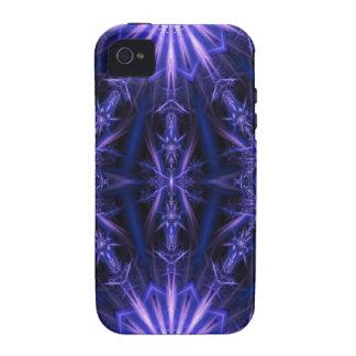 ManaStar Blue - Geometric Fractal Pattern iPhone 4/4S Case