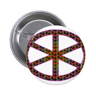 manat 2 inch round button