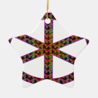 manat ceramic ornament
