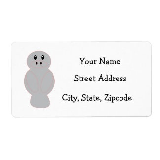 Manataee Address Label