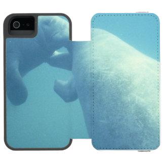 manatee-9 funda billetera para iPhone 5 watson