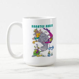 Manatee Abuse - Manatee Rights - Buddy Manatee Mug