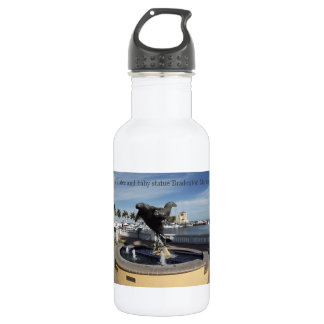 Manatee and Baby 18 oz Water Bottle