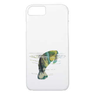 Manatee art iPhone 7 case