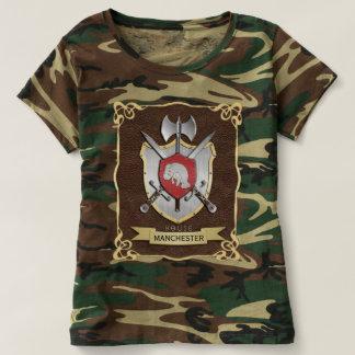 Manatee Battle Crest Sigil Brown T-shirt