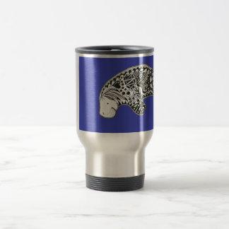 Manatee Blue Travel Mug