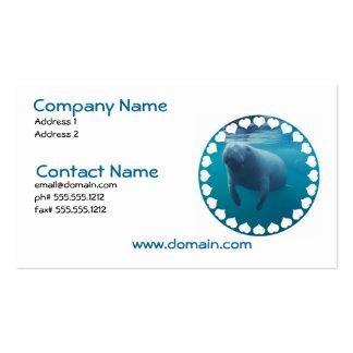 Manatee Business Card