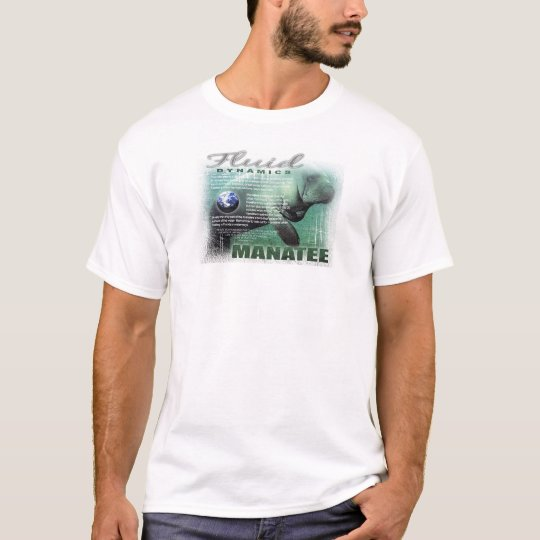 Manatee by Gregory Gallo T-Shirt