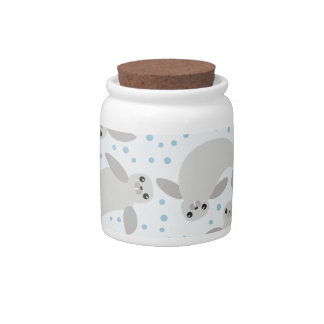 manatee candy jars