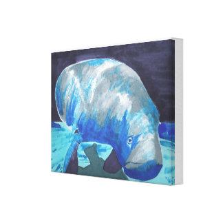 Manatee Gallery Wrap Canvas