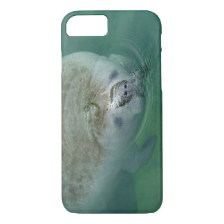 Manatee Close Up iPhone 7 Case