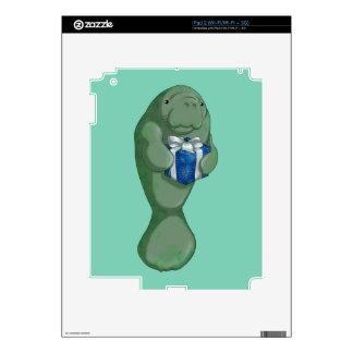 Manatee del navidad calcomanía para iPad 2