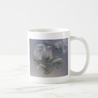 Manatee Family Coffee Mug