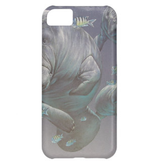 Manatee Family iPhone 5C Cover