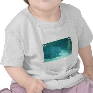 Manatee Floating on the Ocean Floor T Shirt