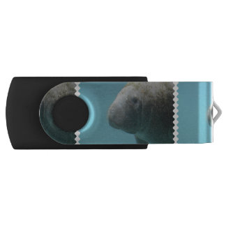 Manatee grande subacuático pen drive giratorio USB 2.0