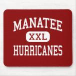Manatee - Hurricanes - High - Bradenton Florida Mouse Pad
