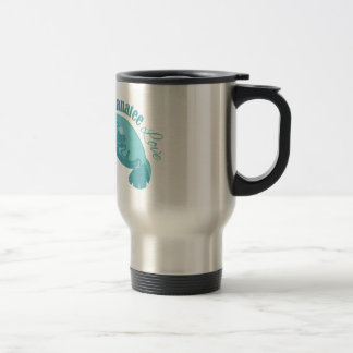 Manatee Love Travel Mug