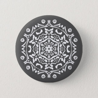Manatee Mandala Button