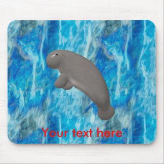 Manatee Mouse Pad