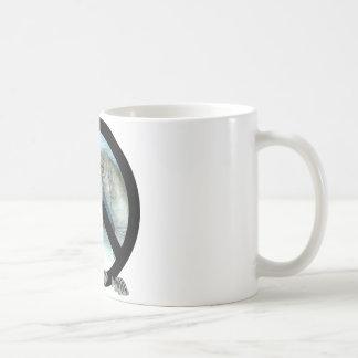 manatee peace coffee mugs