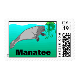 Manatee Postage