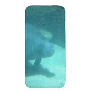 Manatee que flota en el suelo marino funda para iPhone 5