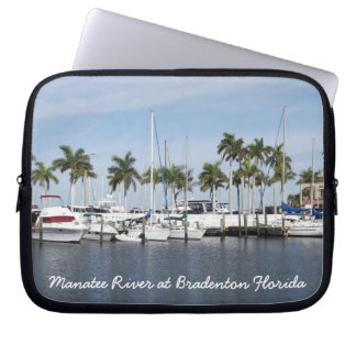 Manatee River at Bradenton Florida Sleeve Laptop Sleeve